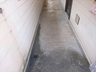 塗り床施工前