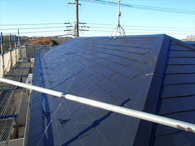 屋根塗装,サーモアイ,クールブラック,完了