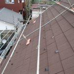 急勾配屋根のカバー工法