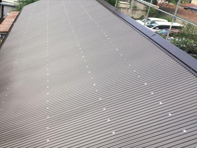 金属波板屋根カバー