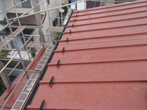 屋根葺き替え工事 腰折れ屋根