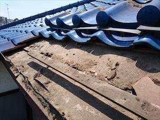 屋根補修工事,施工前