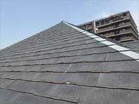 船橋市 築16年、パミールからスーパーガルテクトへ屋根カバー工法!、施工前写真