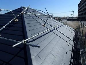 船橋市 築16年、パミールからスーパーガルテクトへ屋根カバー工法!、施工後写真