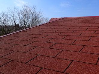 茂原市|台風で雨漏り!屋根カバー工事を施工の完工写真
