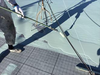 袖ケ浦市 ウレタン防水材の塗布
