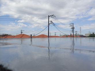袖ケ浦市 ウレタン防水工事完了