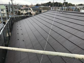 葛飾区パミールを屋根カバー
