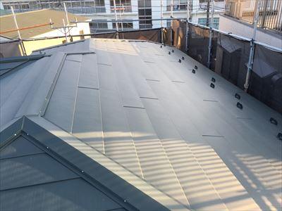 横暖ルーフS,屋根カバー工事