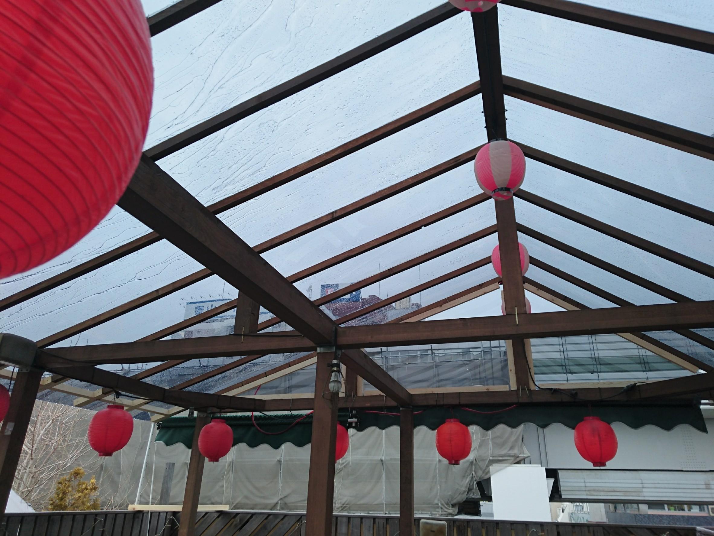 屋根張り替え工事完了