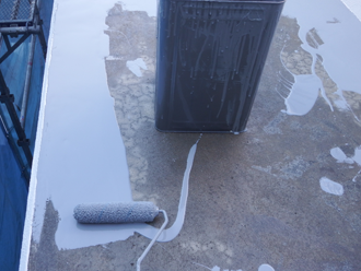 墨田区 ウレタン防水工事 ウレタン防水材塗布