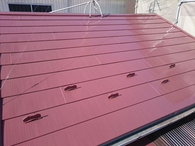 江戸川区金属屋根塗装