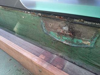 防水塗膜の劣化