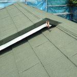 川崎市宮前区|釉薬瓦の屋根から金属屋根材(エコグラーニ)の屋根へ葺き替え