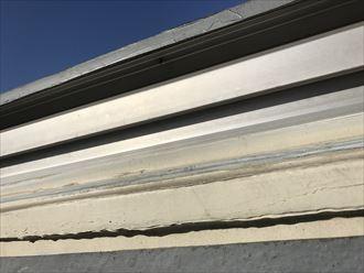 荒川区ひょう災で壊れたトップライトの交換