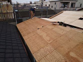 墨田区屋根葺き替え工事