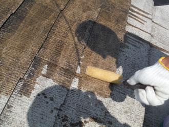 川崎市中原区 屋根塗装 下塗りのシーラー