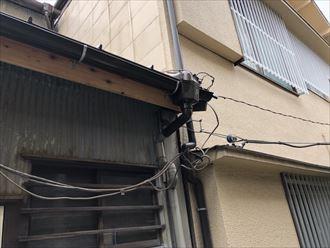 雨樋取り換え工事