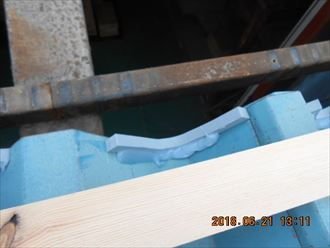 江戸川区工場の屋根の雨漏り補修