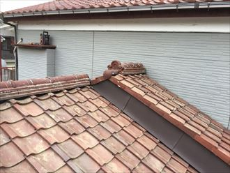 屋根葺き直し工事完了