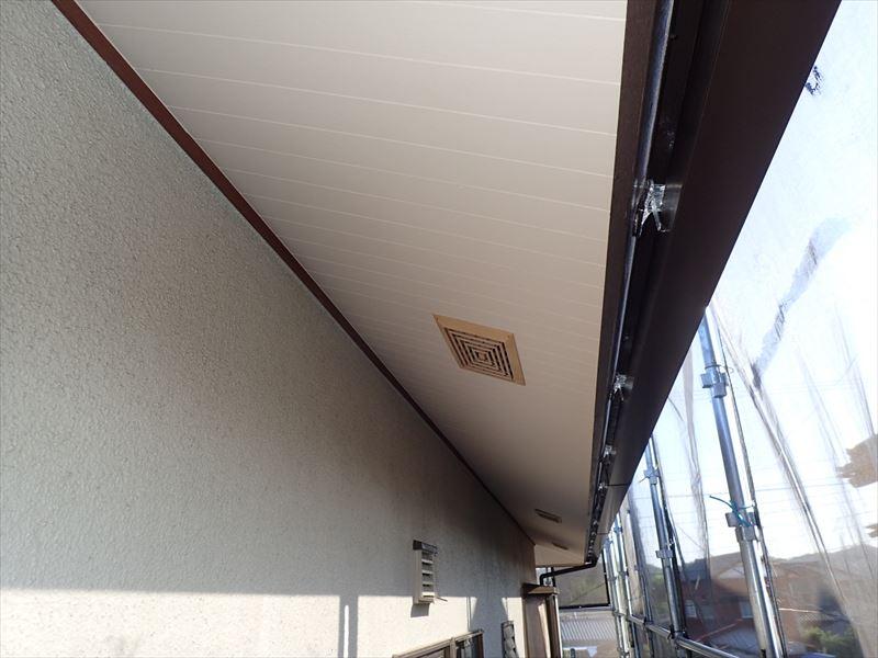袖ケ浦市 付帯部塗装完了
