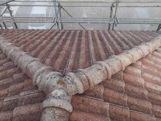 セメント瓦の屋根葺き替え工事