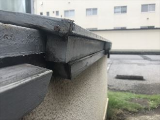 江戸川区物置屋根改修工事