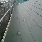 保土ケ谷区で金属屋根材からコロニアルへの屋根葺き替え工事