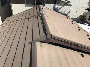 葛飾区金属屋根塗装