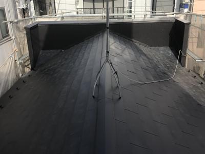 屋根葺き替え工事,KNルーフ,工事完了