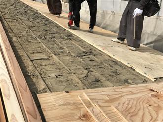 野地板合板増張り補強