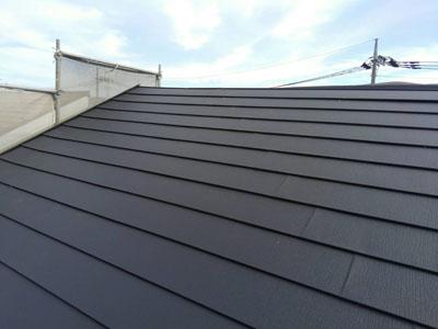 スーパーガルテクトで屋根カバー