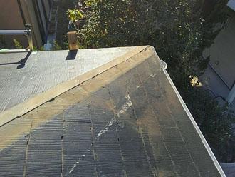 棟板金と貫板の撤去