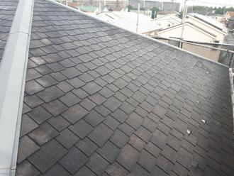 汚れが落とされた屋根