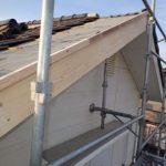 破風修復工事