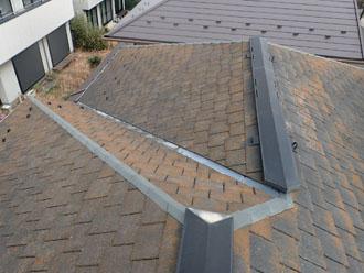 アーバニーの屋根、屋根カバー工事前