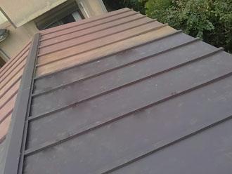 屋根の部分葺き替え、完了