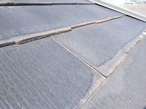 不具合が生じた屋根材