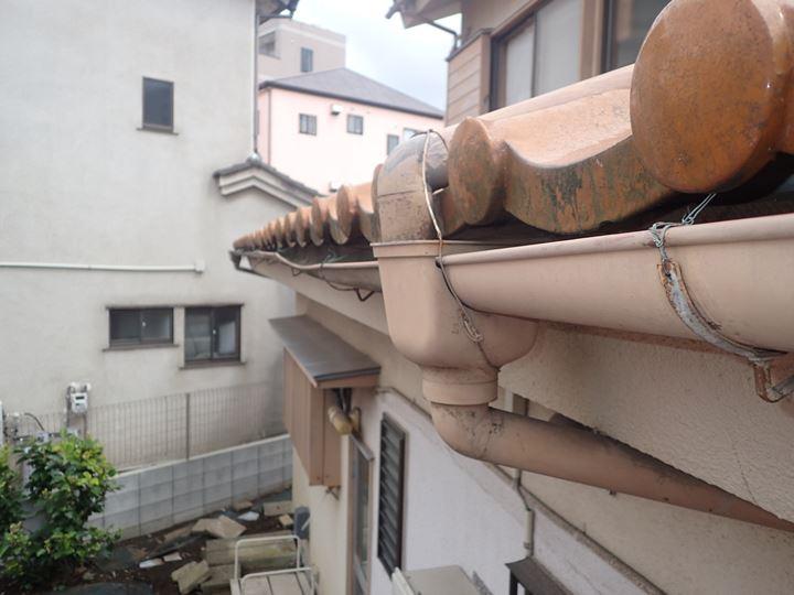 雨樋の変形