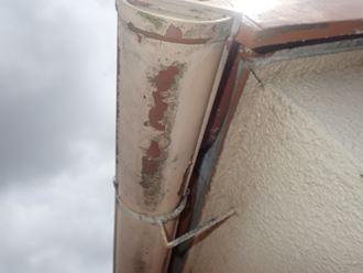 雨垂れ部分の雨樋