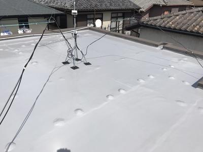 ウレタン防水で雨漏りしなくなった陸屋根