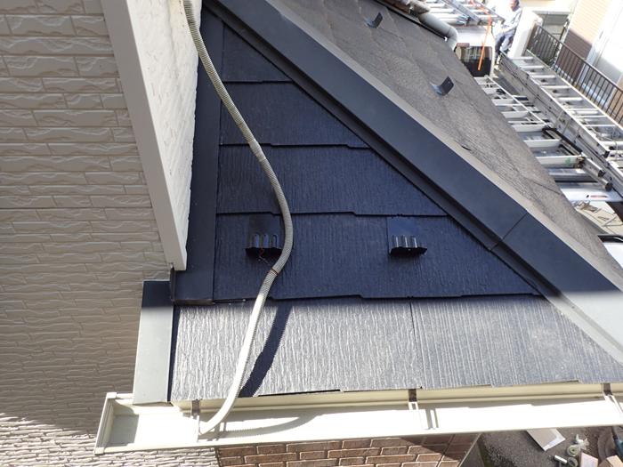 昭島市福島町 下屋の屋根葺き替え工事 完工