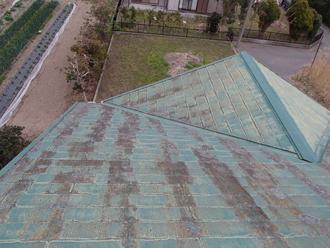 汚れている屋根