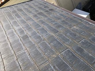 綾瀬市深谷上 スレートが劣化している屋根