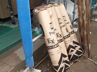新規の防水紙