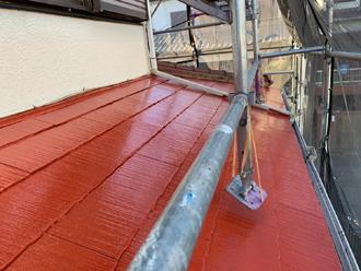 下屋の塗装、完了