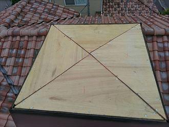 下地木材の敷設