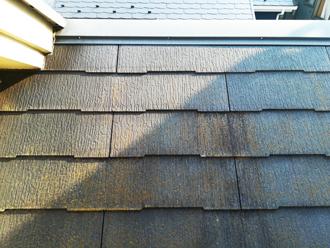 スレート屋根の様子