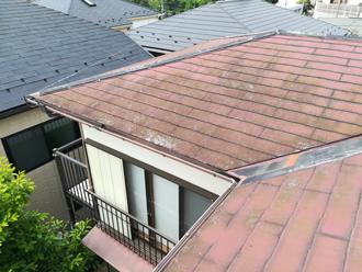 スレート屋根の状態