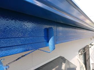 破風など付帯部分塗装